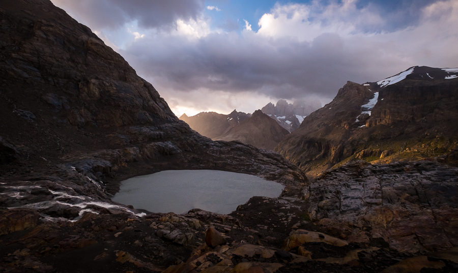 Beautiful light on the mountains - South Patagonia Icefield Expedition - Argentina