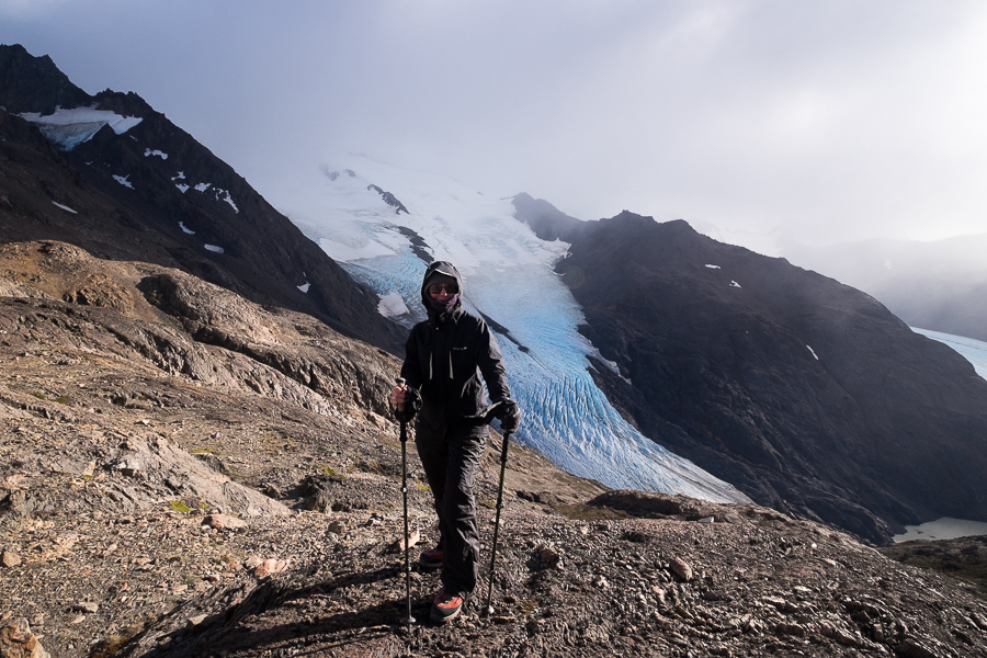 Me at the Paso del Viento - South Patagonia Icefield Expedition - Argentina