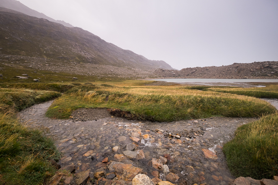 Rainy view from the Refugio Paso del Viento - South Patagonia Icefield Expedition - Argentina