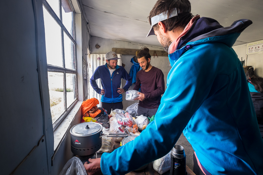 Food resupply - South Patagonia Icefield Expedition - Argentina