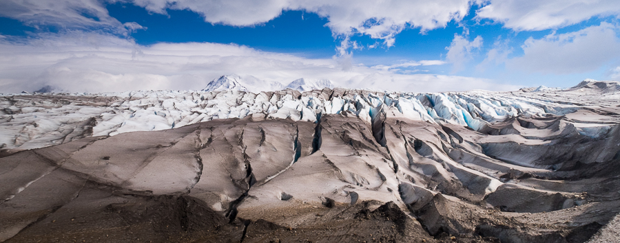 Enormous crevasses in Viedma Glacier - South Patagonia Icefield Expedition - Argentina