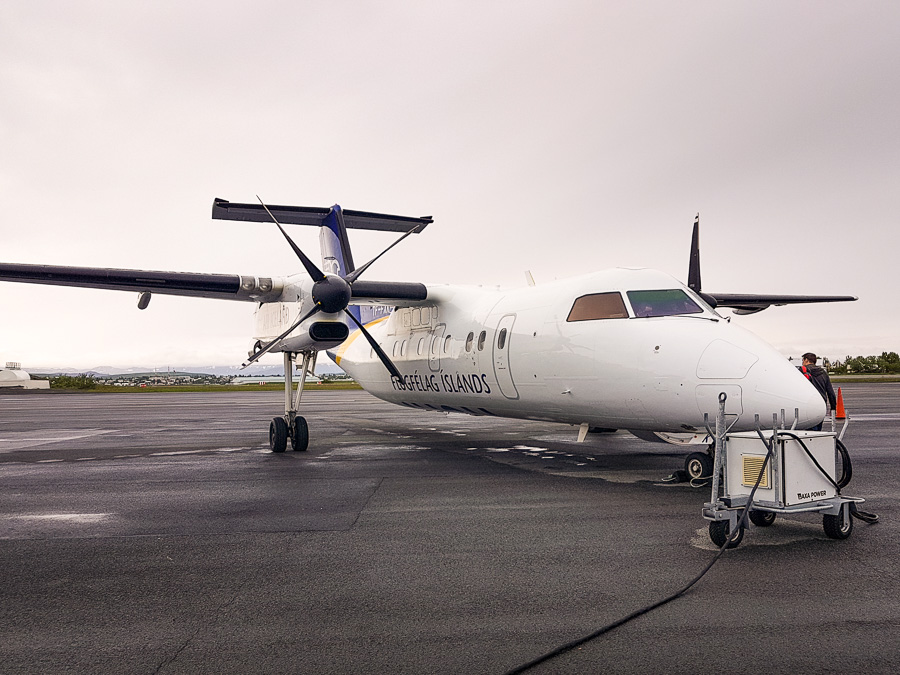 Air Iceland Connect plane to Isafjordur
