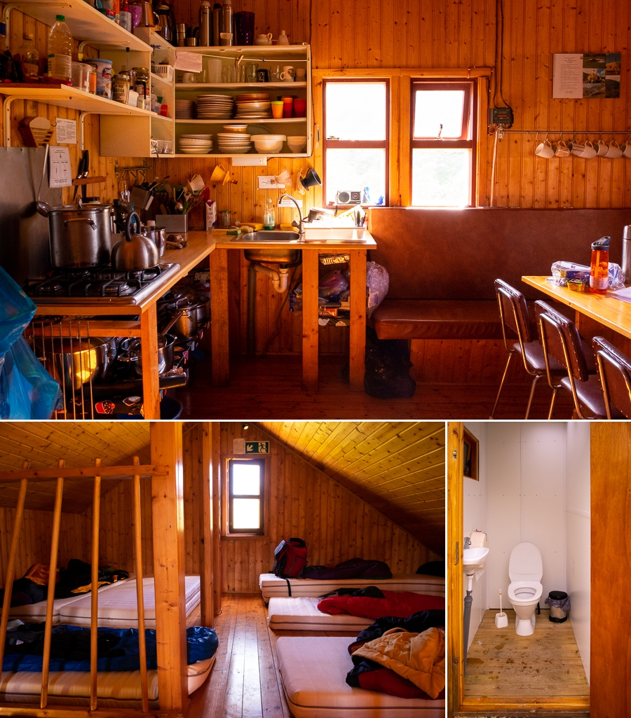 Interior of Múlaskáli Hut - East Iceland