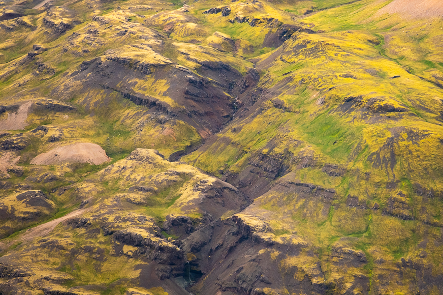 Abstract landscape - East Iceland