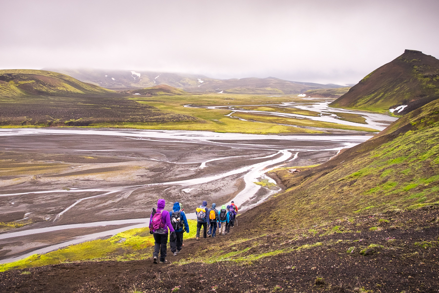 Descending to the river - Volcanic Trails - Central Highlands, Iceland