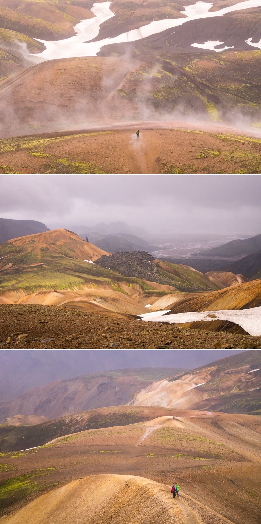 Views from the Laugavegur Trail - Volcanic Trails - Central Highlands, Iceland
