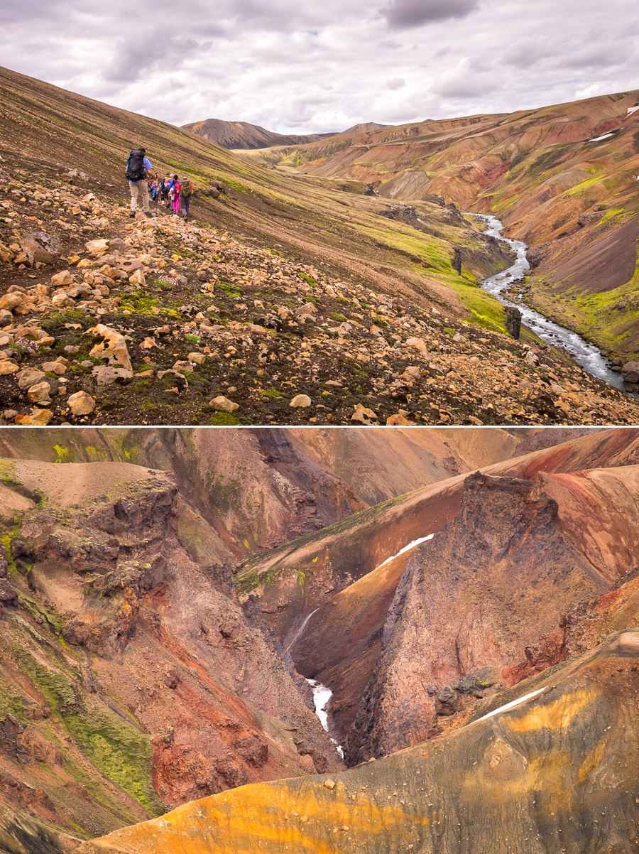 More colourful hills on Day 6 - Volcanic Trails - Central Highlands, Iceland