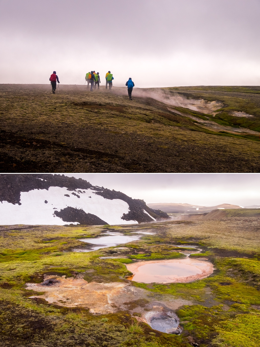 Geothermal activity - Volcanic Trails - Central Highlands, Iceland