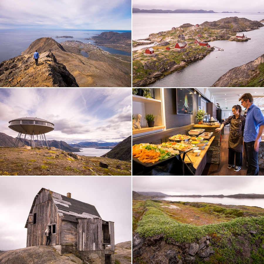 Images of some of the many things I did after the Arctic Circle Trail while in Sisimiut, West Greenland