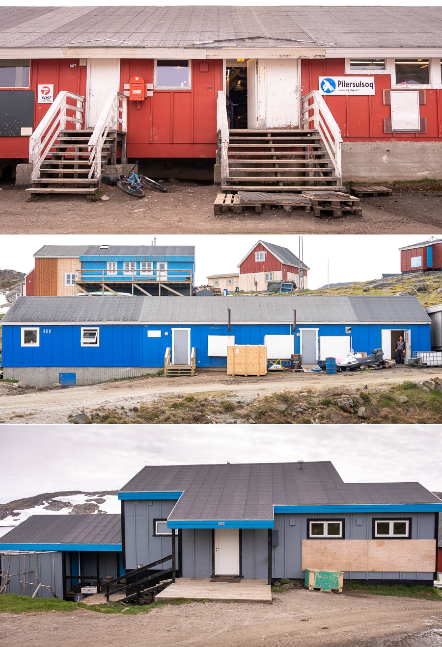 Service buildings - Kulusuk - East Greenland