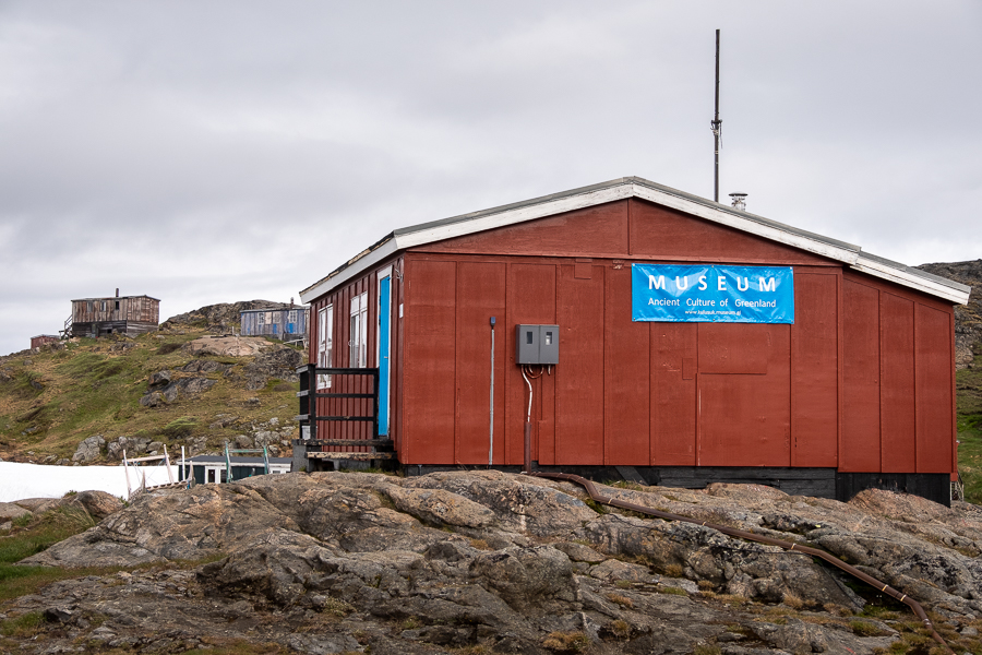 Exterior of the Kulusuk Museum - East Greenland