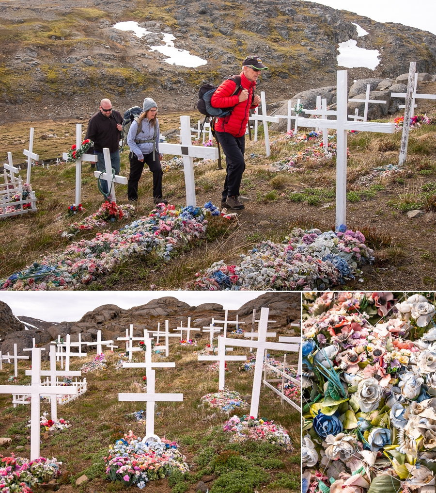 New cemetery - Kulusuk - East Greenland