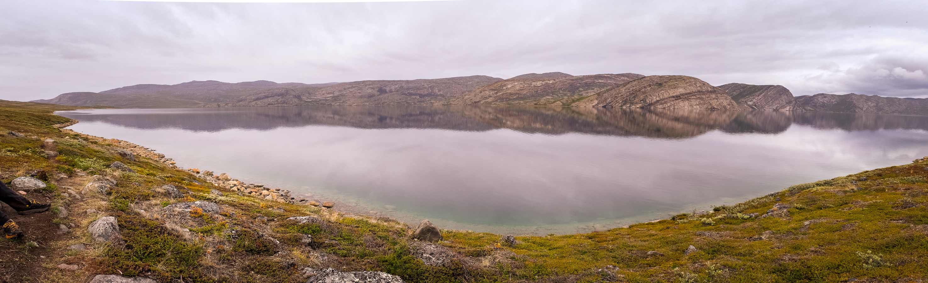Panorama of the - Arctic Circle Trail - West Greenland