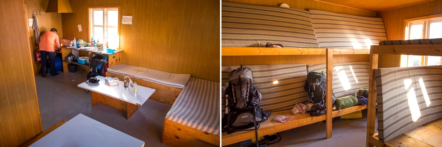 Interior of the Innajuattoq II (the Lake House) - Arctic Circle Trail - West Greenland