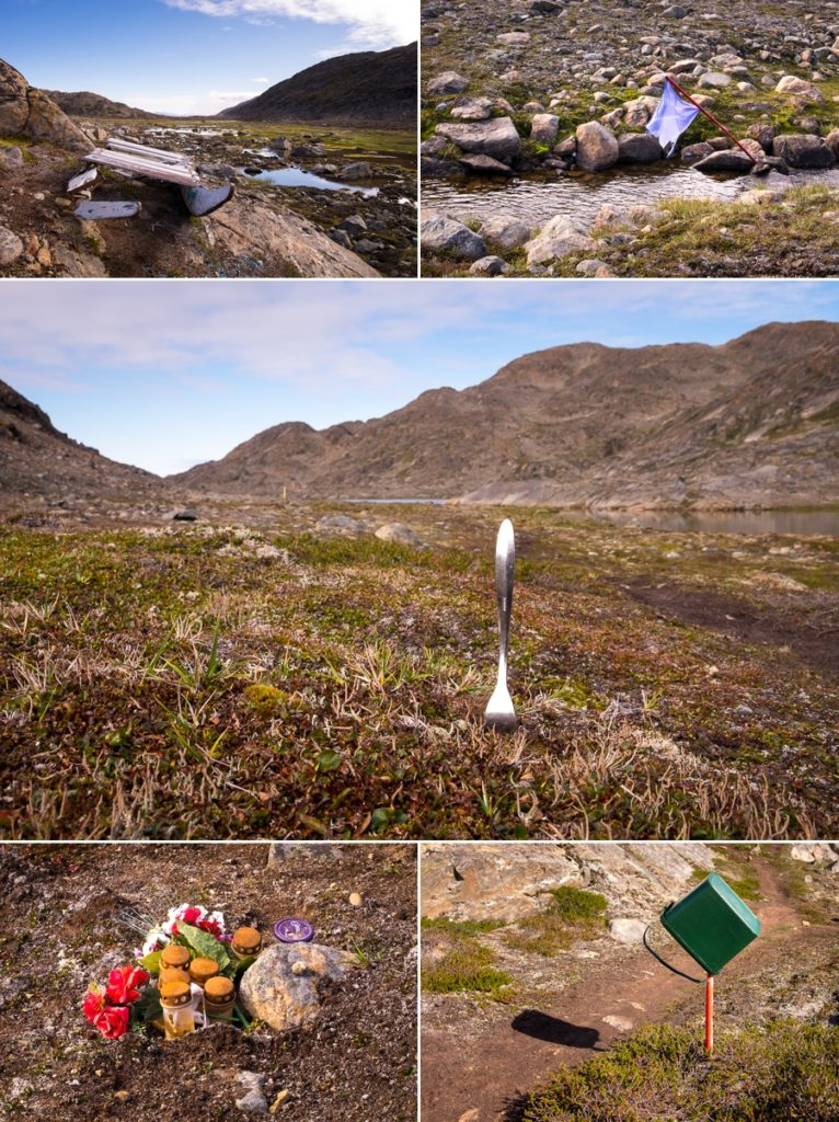 Random things along the Arctic Circle Trail heading into Sisimiut - West Greenland
