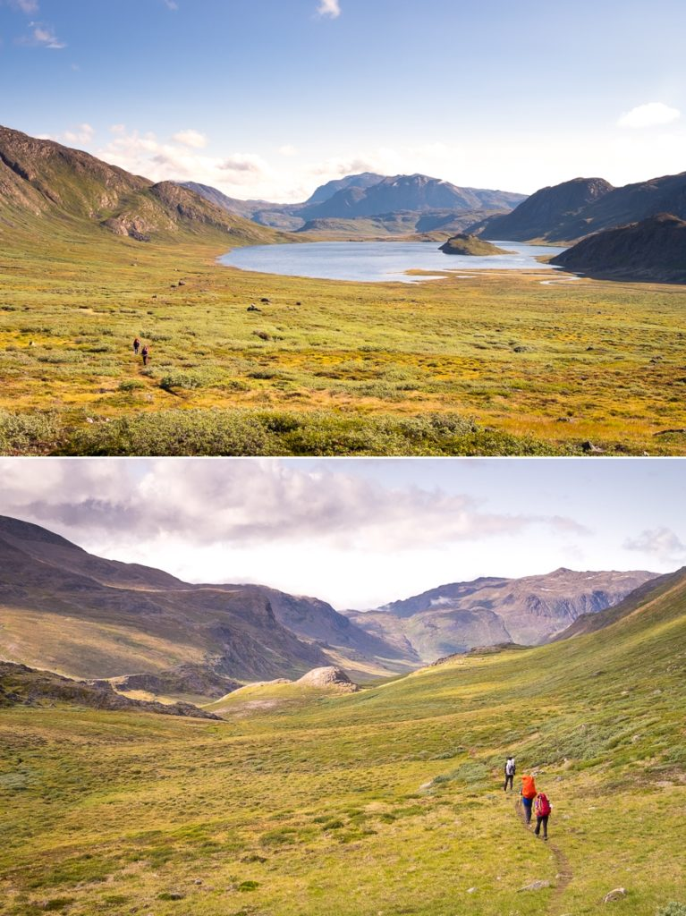 Hiking views Day 6 - Arctic Circle Trail - West Greenland
