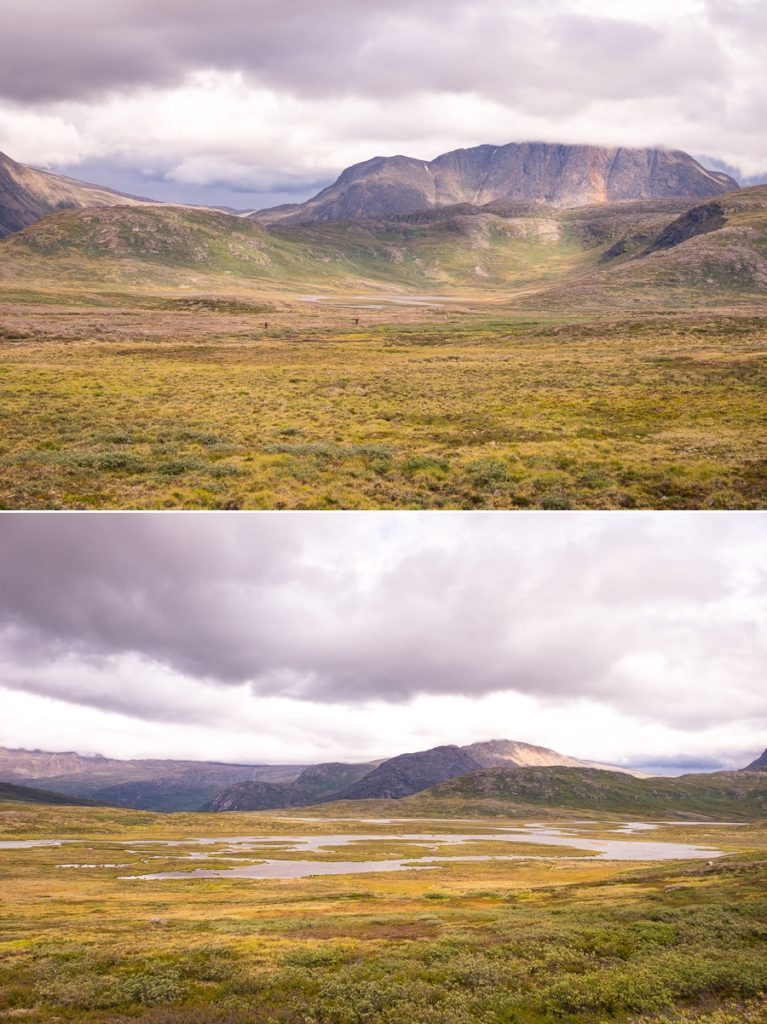 Views while hiking on Day 5 - Arctic Circle Trail - West Greenland