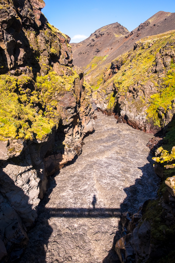 Crossing the Emstrur River - Laugavegur Trail - Icelandic Highlands