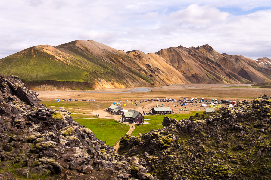 View of Landmannalaugar - Icelandic Highlands