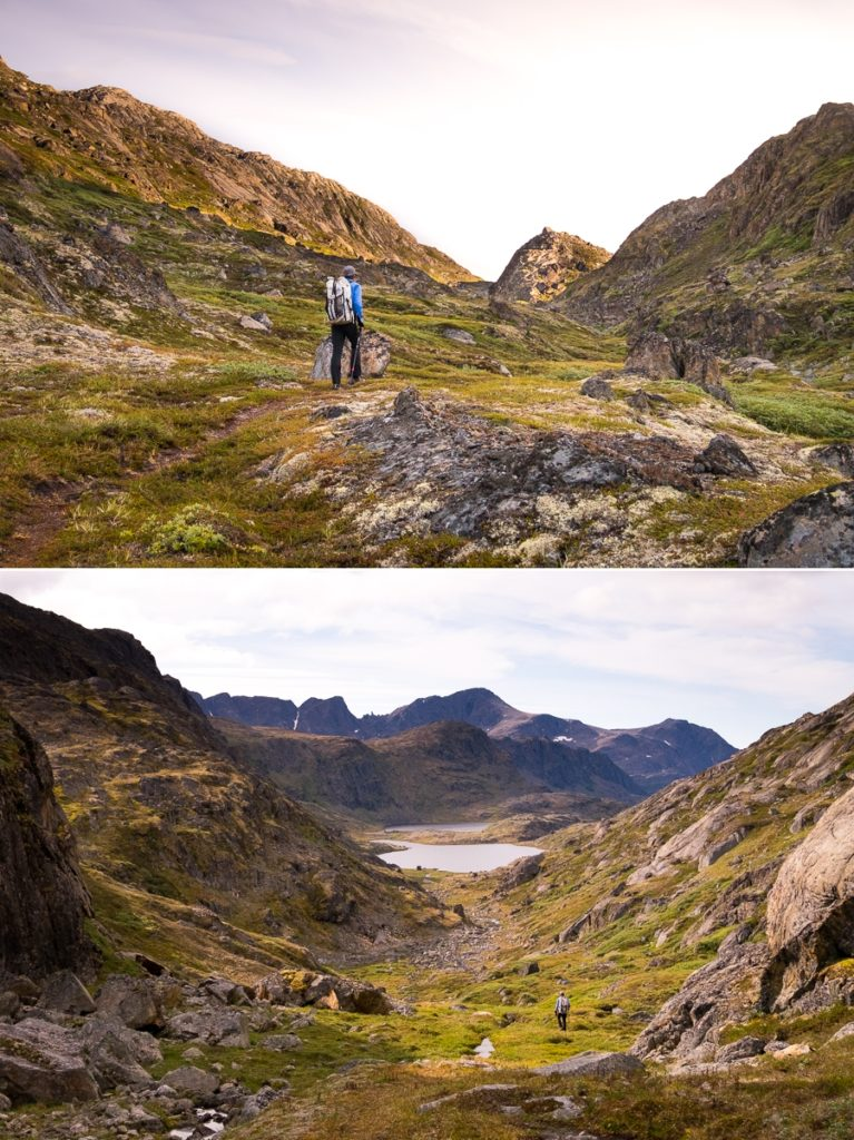 Views from the trail -  Sisimiut UFO hike - West Greenland