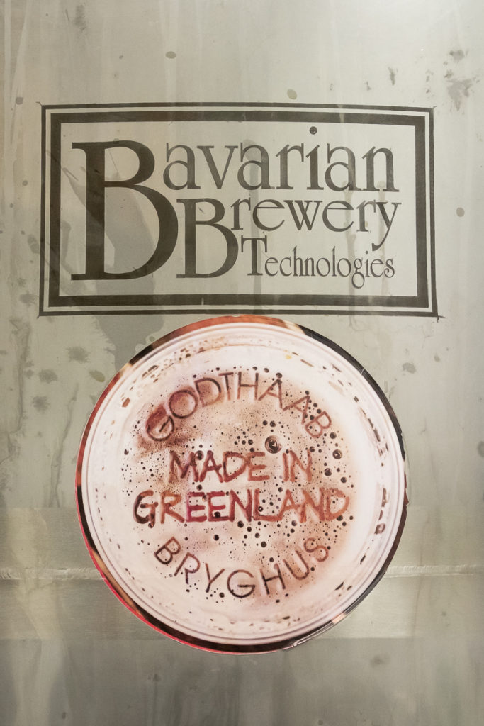 Beer label - Godthaab Bryghus brewery in Nuuk - West Greenland