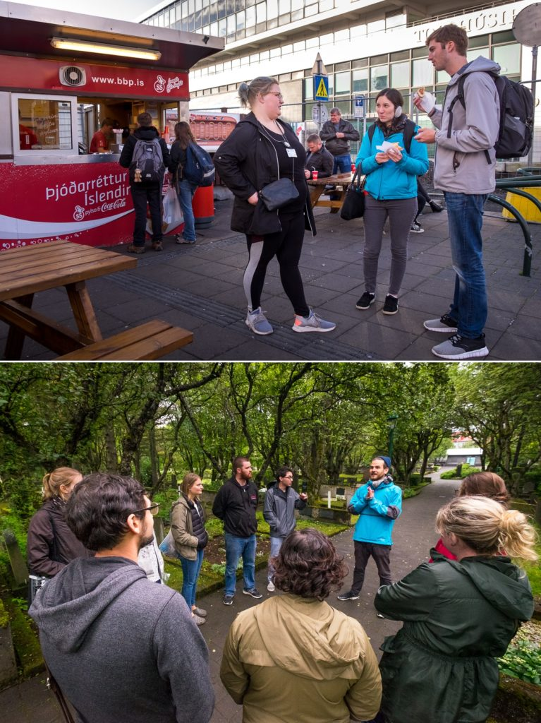 Foodie Tour (top) and Mythical Walking Tour (bottom) from Your Friend in Reykjavik