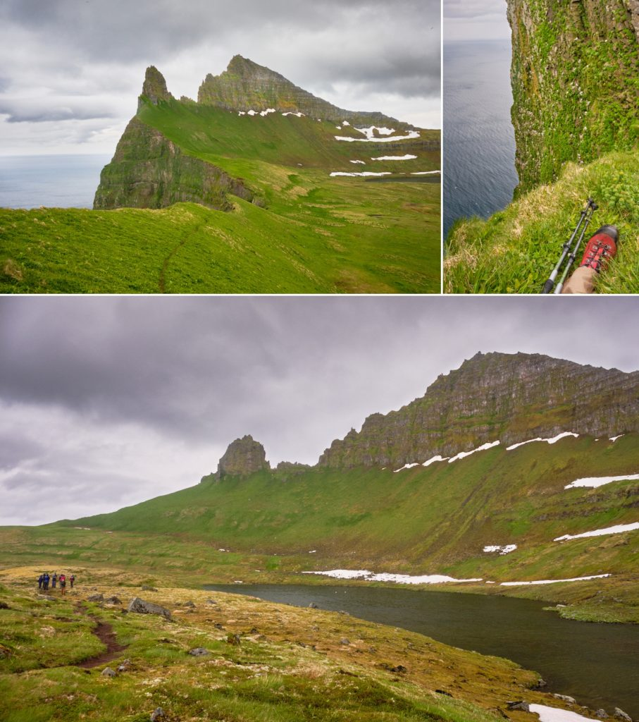Views of Hornbjarg - Hornstrandir - Iceland