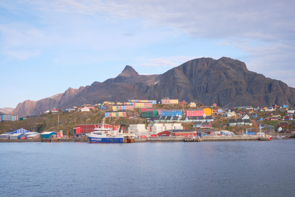approaching Sisimiut harbour - Sarfaq Ittuk - West Greenland