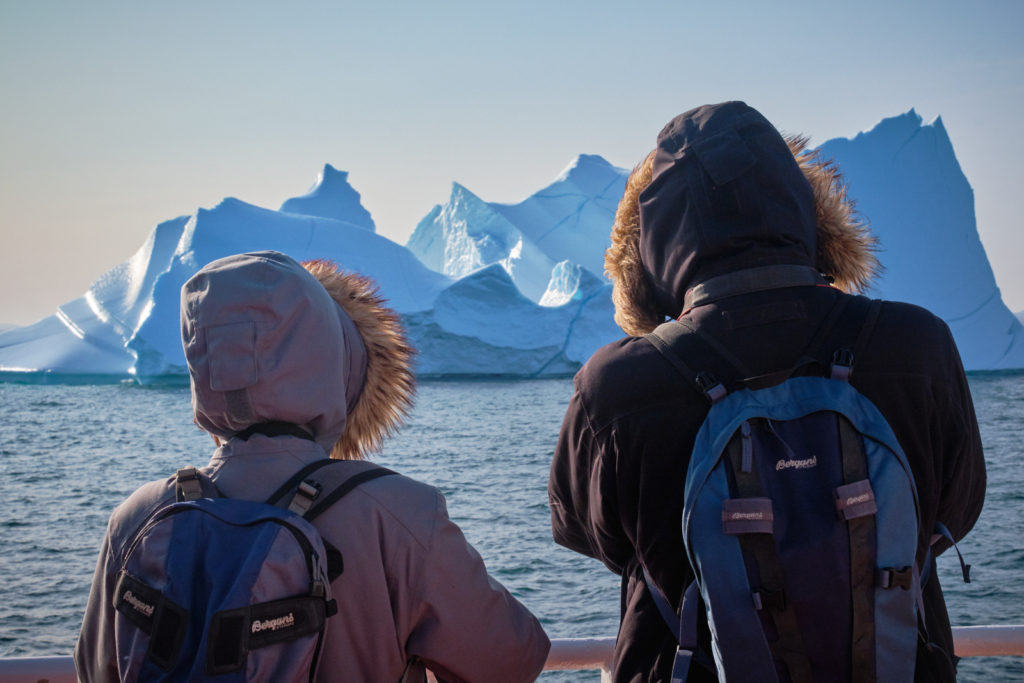 Huge icebergs in Disko Bay - Sarfaq Ittuk - West Greenland