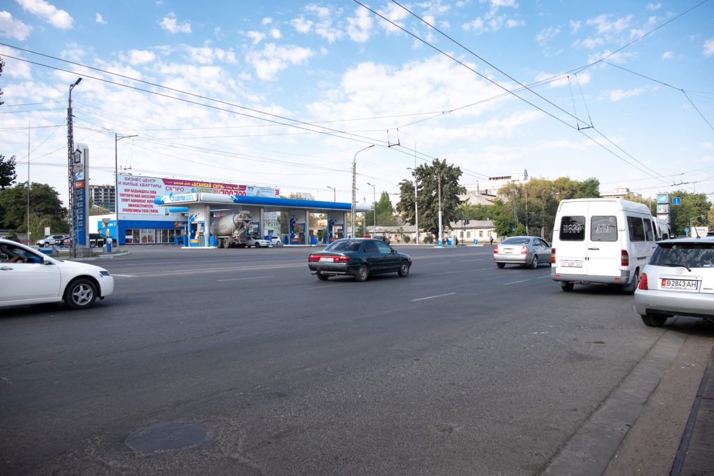 The ancient Silk Road as it passes through Bishkek in 2019