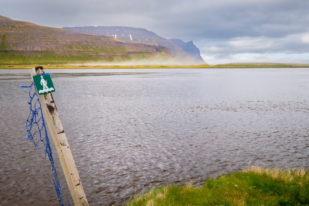 River crossing near Horvik  - Hornstrandir -Iceland
