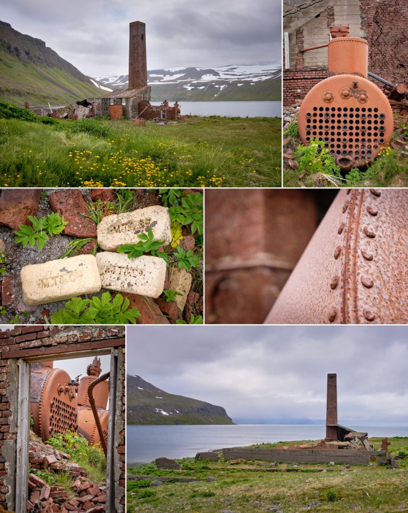 The old whaling station at Sekkeyri near Hesteyri - Hornstrandir - Iceland