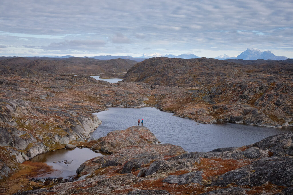 Looking inland on the Island of Hope near Nuuk-Greenland