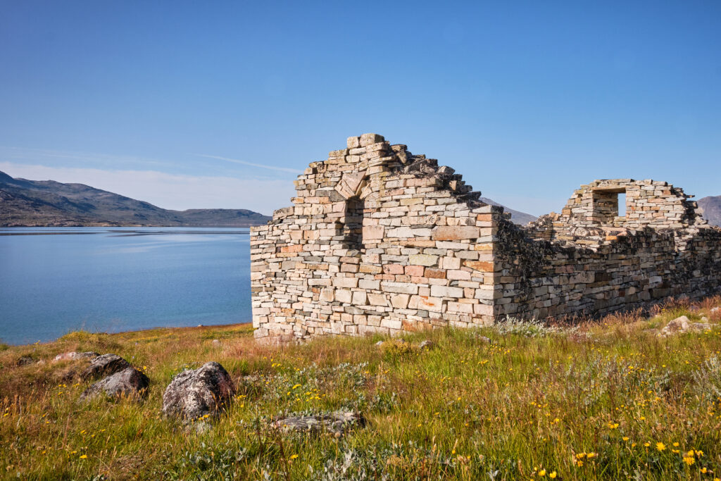 UNESCO Heritage Listed Hvalsey Church near Qaqortoq - South Greenland
