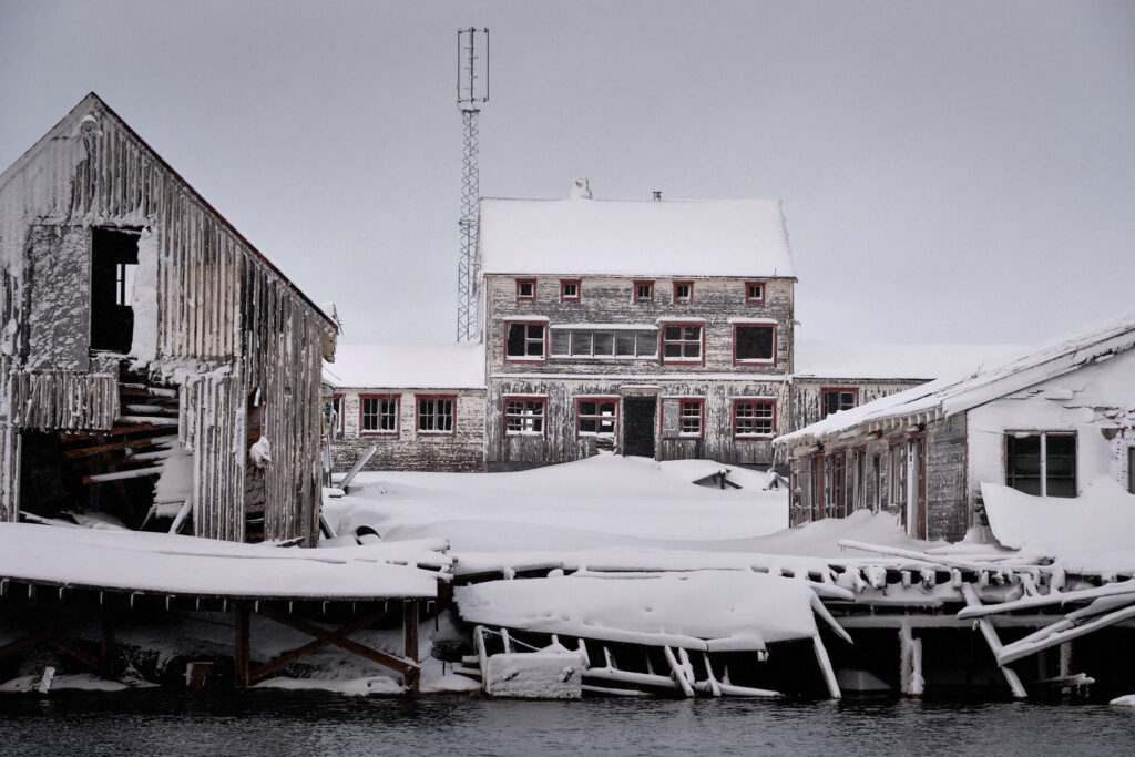 Nordafar - the Abandoned Fish processing plant near Nuuk