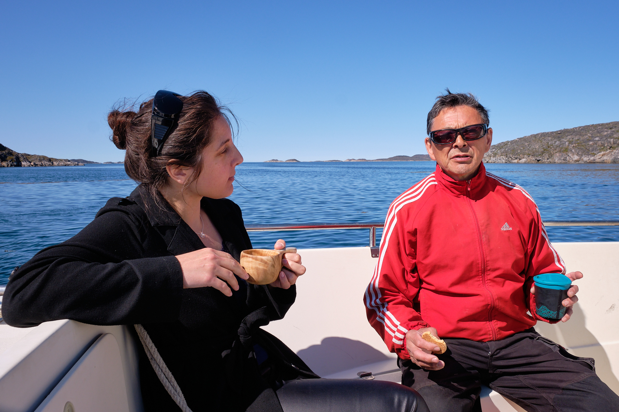 Coffee Break Itilleq on the way to Sassannguit - Greenland