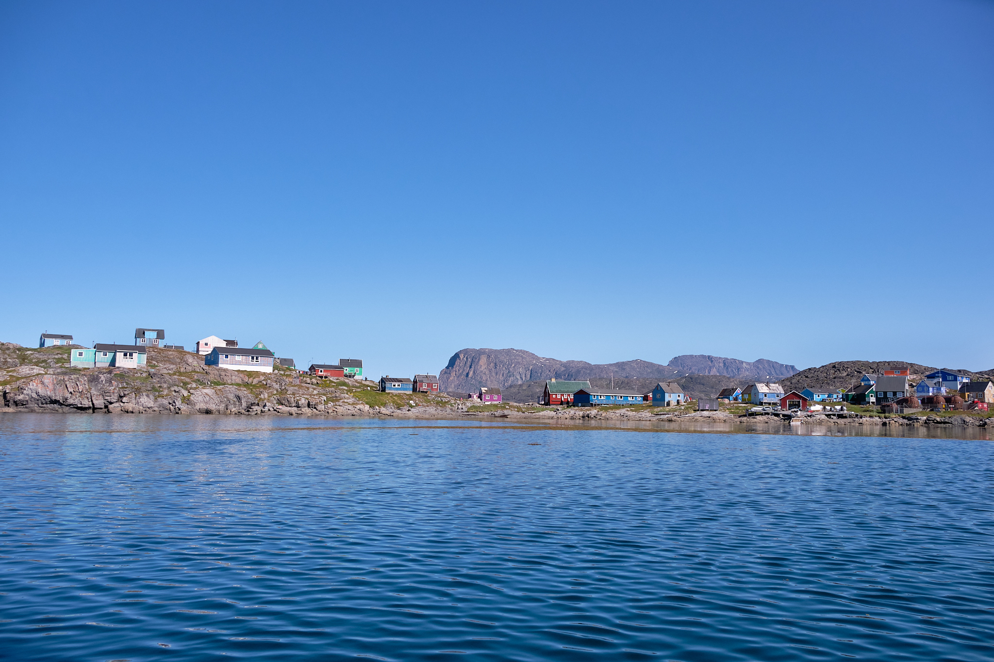 Small settlement of Itilleq south of Sisimiut - Greenland