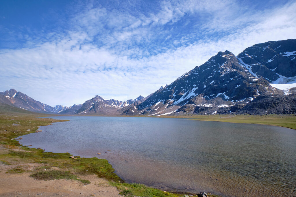 The first lake up the valley of Sassannguit - Sisimiut - Greenland