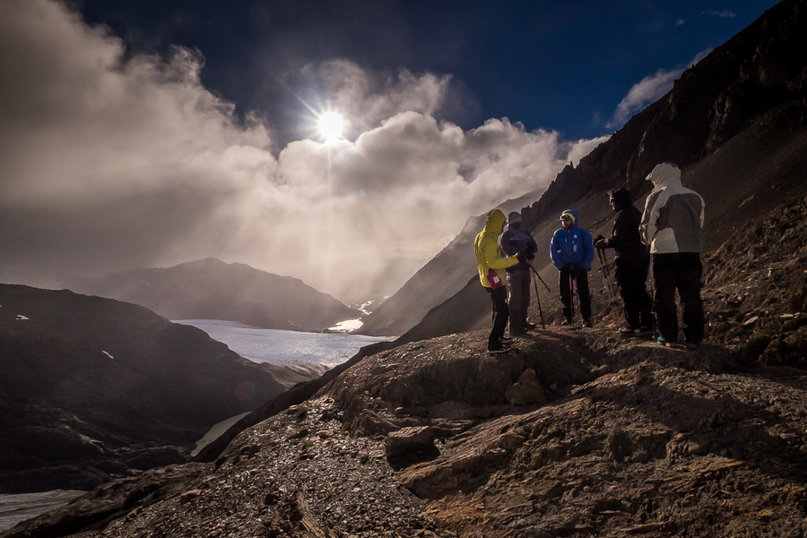 Enjoying the Paso del Viento - South Patagonia Icefield Expedition - Argentina