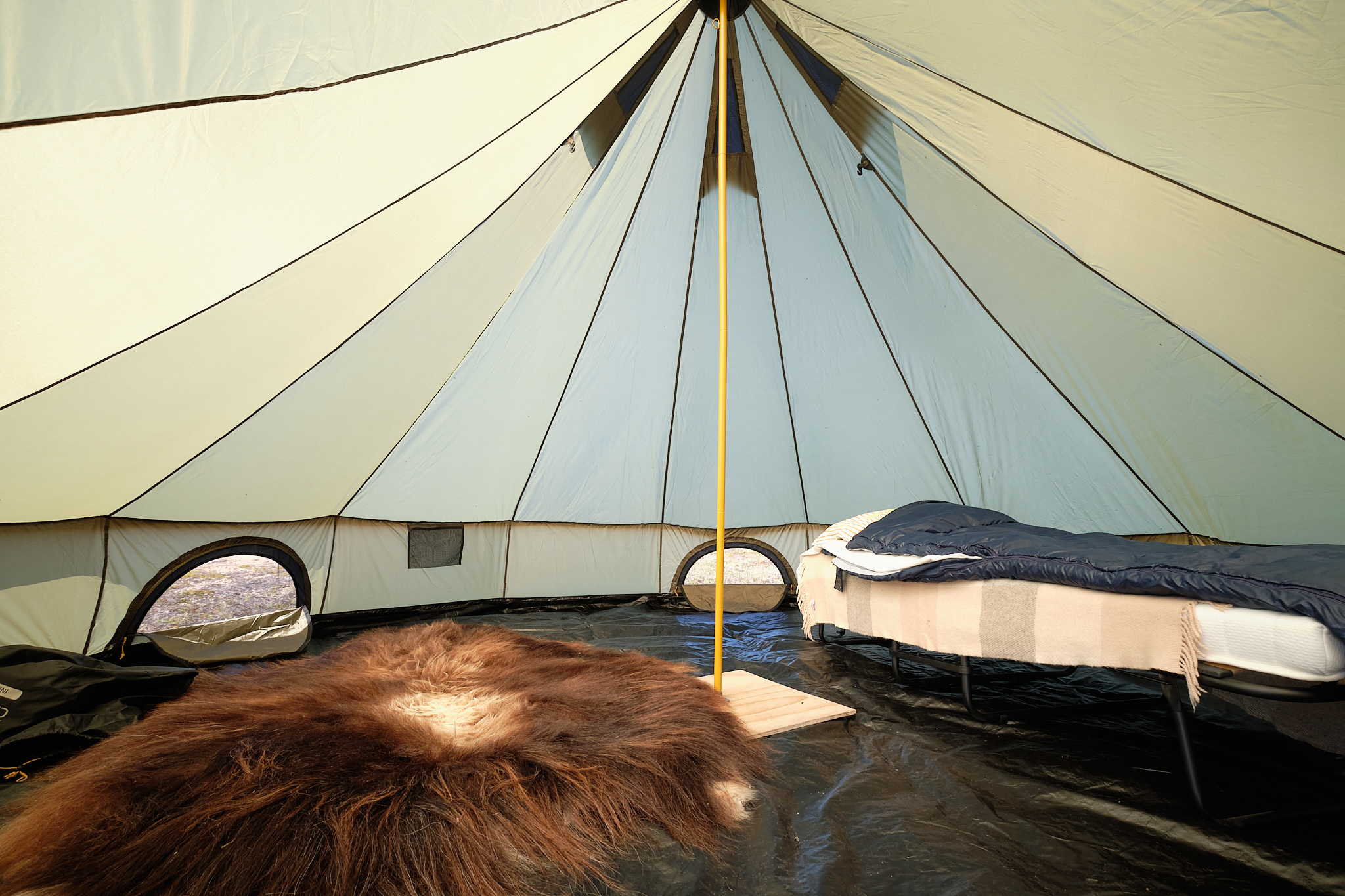 musk-ox tent at Sassanguit- Greenland