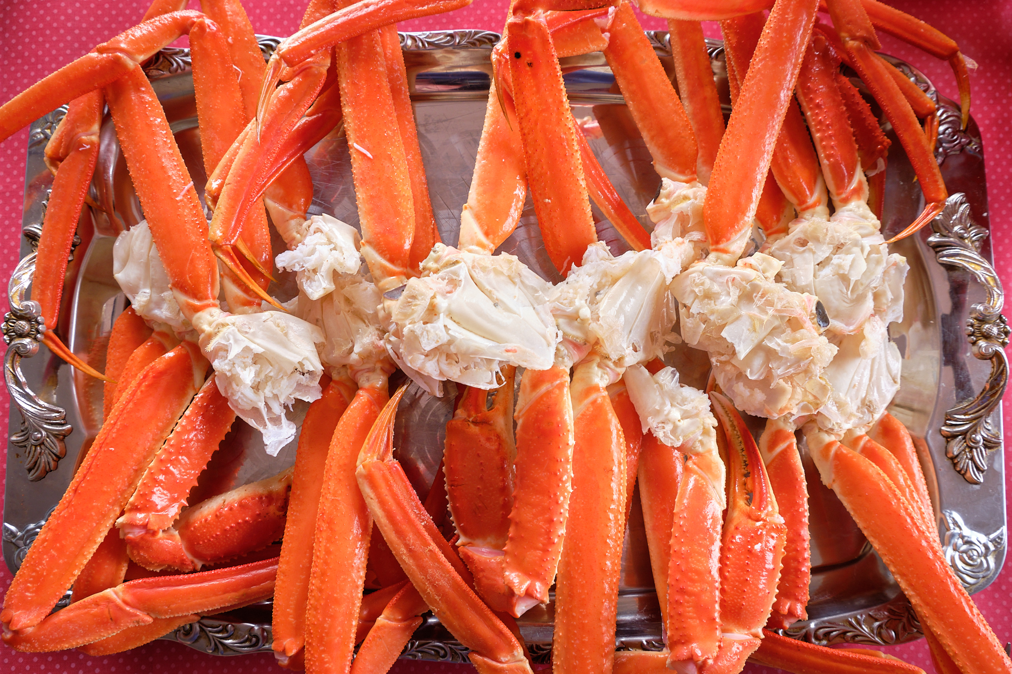 snow-crab for lunch at sassannguit near Sisimiut - Greenland